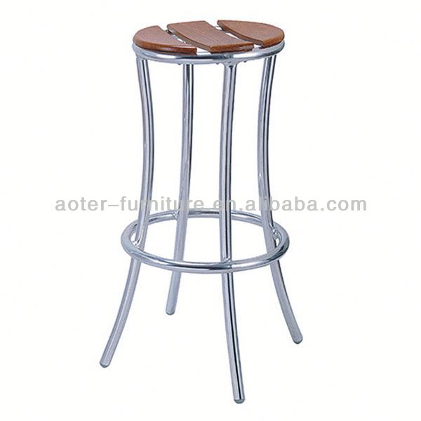 Commercial Round Metal Stool