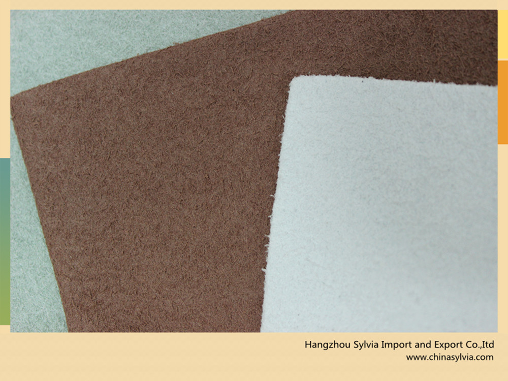 Beat quality microfiber leather,microfiber suede leather,amara leather