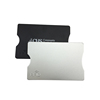 Environmental-friendly ABS plastic blocking card holders for one card holder for credit card bank card