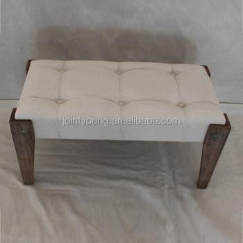 Vintage Wooden Footrest