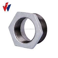 weight of gi pipe fittings hex bushing malleable iron pipe fittings
