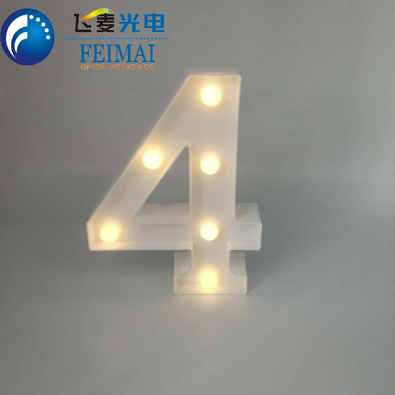 Hot new products wedding party xmas decor LED marquee lighted lettering LED marquee letters