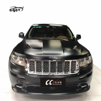 Hight quality and beautiful SRT&8 style wide body kit for Jeep Grand Cherokee front bumper rear bumepr side skirts hood fender