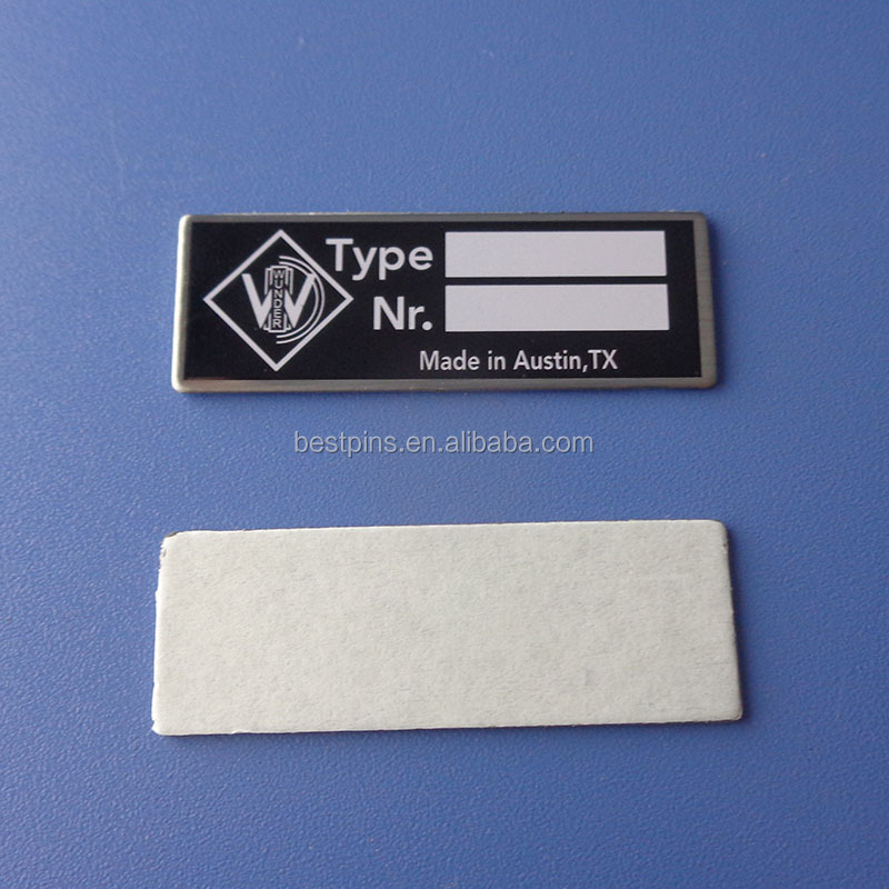 Custom Serial Number Metal Name Plate Name Tags - Buy Custom Company Logo  Metal Name Plate Name Tags,Printing Logo Metal Tags Name Plates,Metal Name
