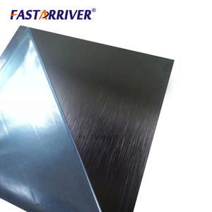 Hot selling intrinsic formability Lowest price black anodized brushed aluminum sheet/plate