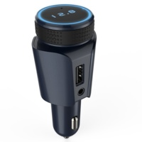 AGETUNR T18 Good Bluetooth Car Kit unique design FM Bluetooth Transmitter Beautiful Bluetooth Car MP3 Player