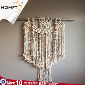 Popular Design Macrame Rope Hanging Wall Hanging Decorative Macrame