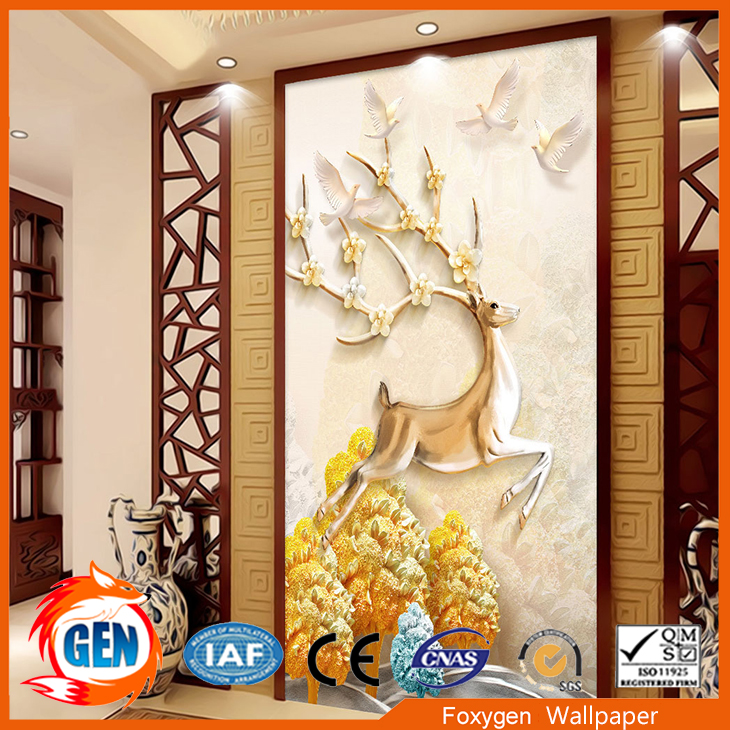 3d white brick design wall mural yellow guys decoration kids bedroom wallpaper