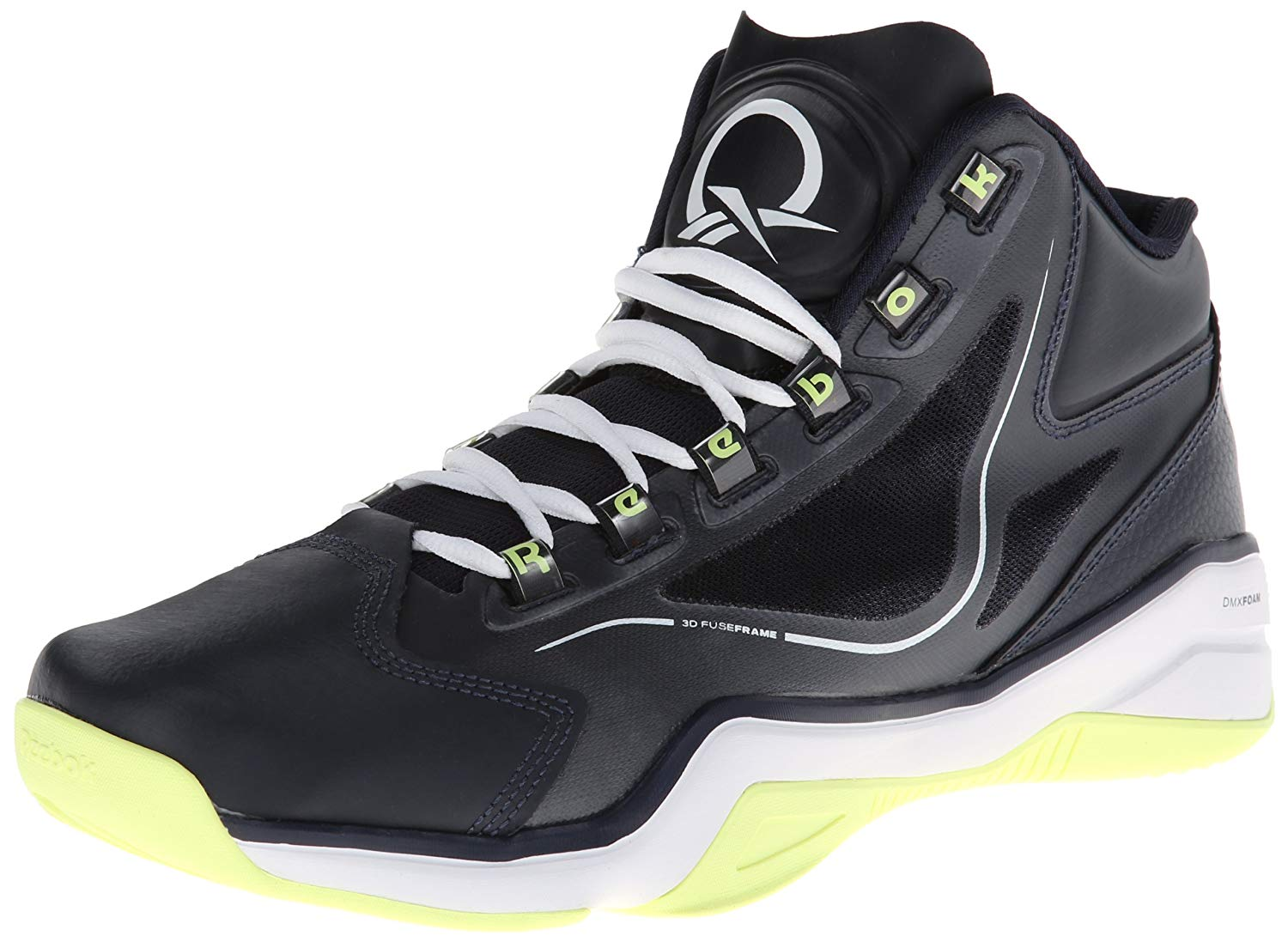 a36a3e8ce131 Get Quotations · Reebok Men s Q96 Cross Examine Basketball Shoe