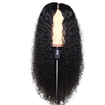 Water Wave 13*4 Lace Front Wig Curly Virgin Chinese Human Hair Wigs