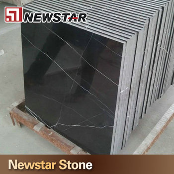 Man made nero marquina marble tiles buy nero marquina for Carrelage en marbre noir