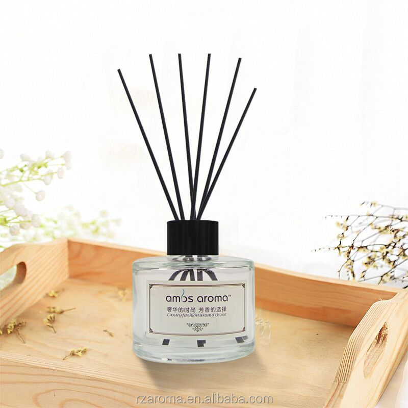 High quality aroma reed diffuser, wholesale home fragrance diffuser from manufacturer,reed diffuser with rattan