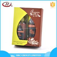 Natural product argan oil black hair shampoo
