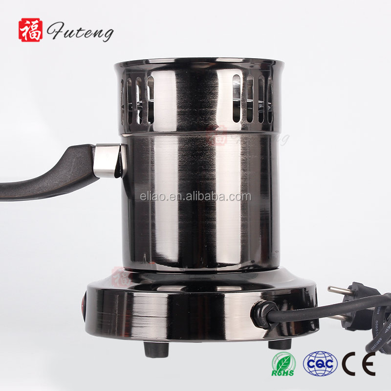 FT-01 Futeng Shisha Accessories Electric Hookah Burner Charcoal Coal Starter Stainless Steel Hookah Charcoal Burner