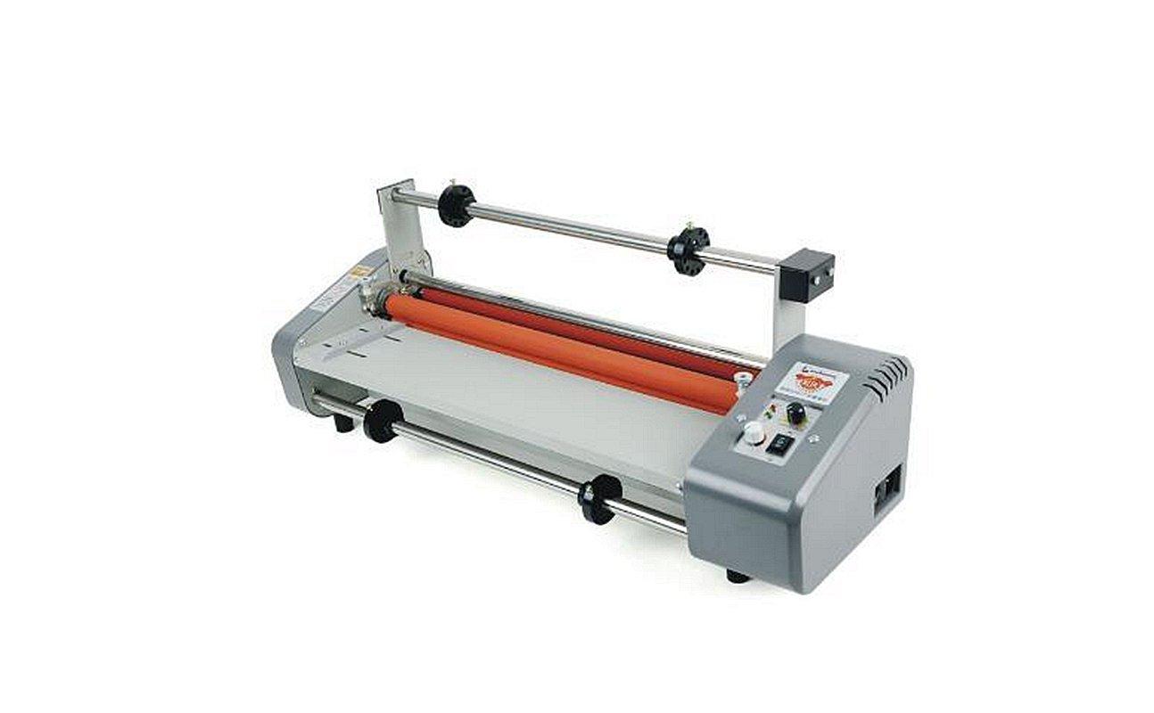 "Welljoin 17.5"" Laminator Four Rollers Roll Laminating Machine Hottest8460T+ 440mm200m25mic Hot Laminating Film 1"" Core (Laminator+Matte film)"