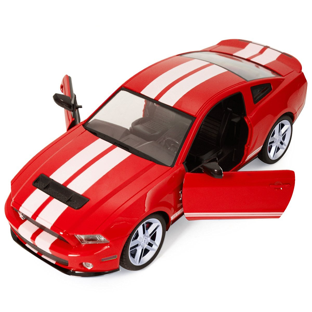 Get quotations · goplus new 1 14 radio remote control rc model car ford mustang shelby gt500 red