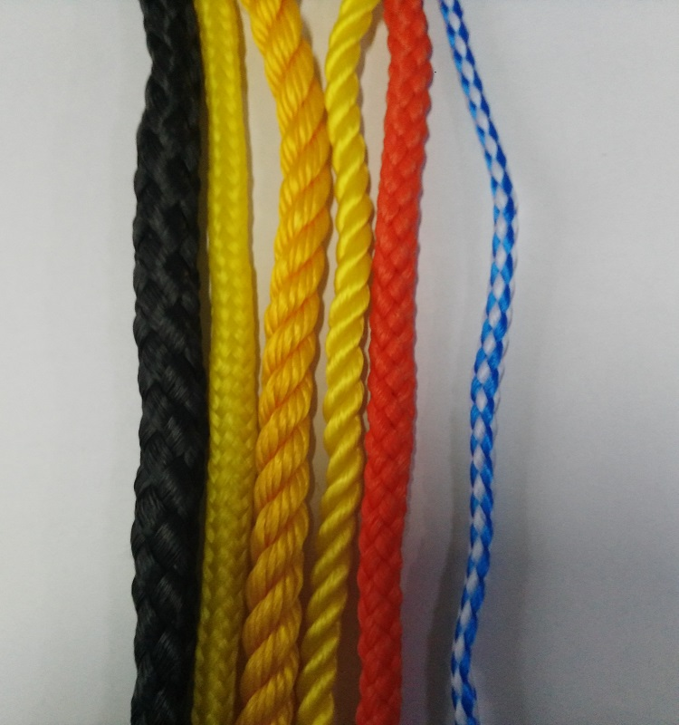 2017 Solid Color Braid PP/Polypropylene Rope