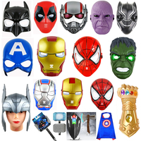 The Avengers Toys Marvel Kids Masks Party Cosplay Light up LED Avengers Mask