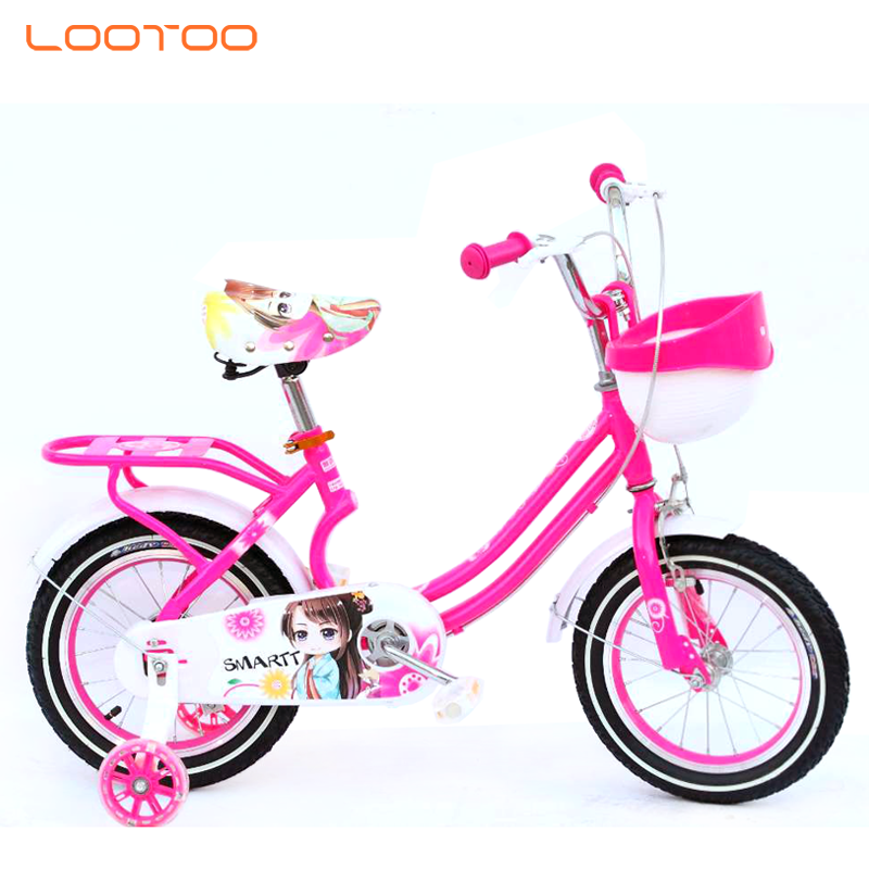 Hebei factory supply aluminum rim 14 inch cycle baby bicycle with brakes for girl 2 years old bangladesh
