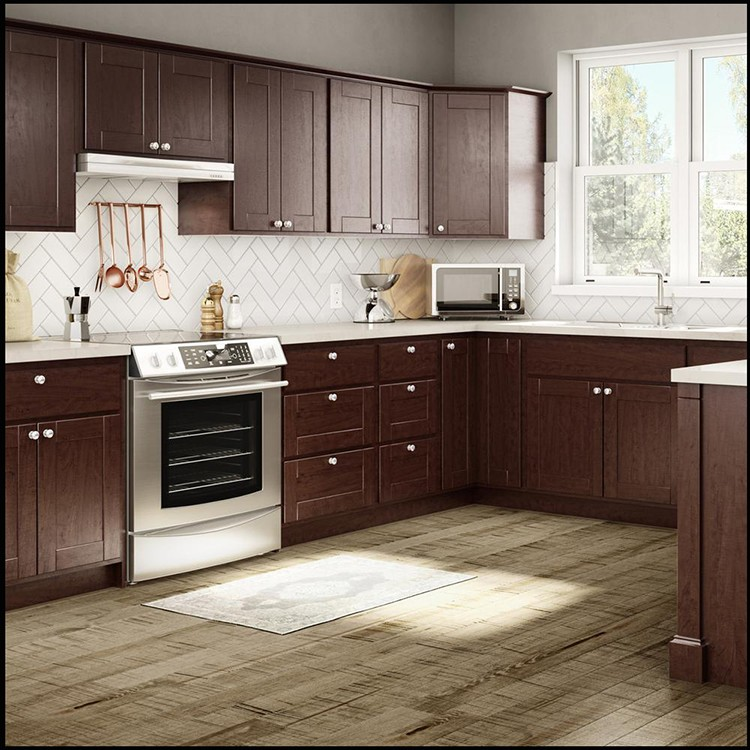 Factory Direct Sale Prefinished Plywood Kitchen Cabinets ...