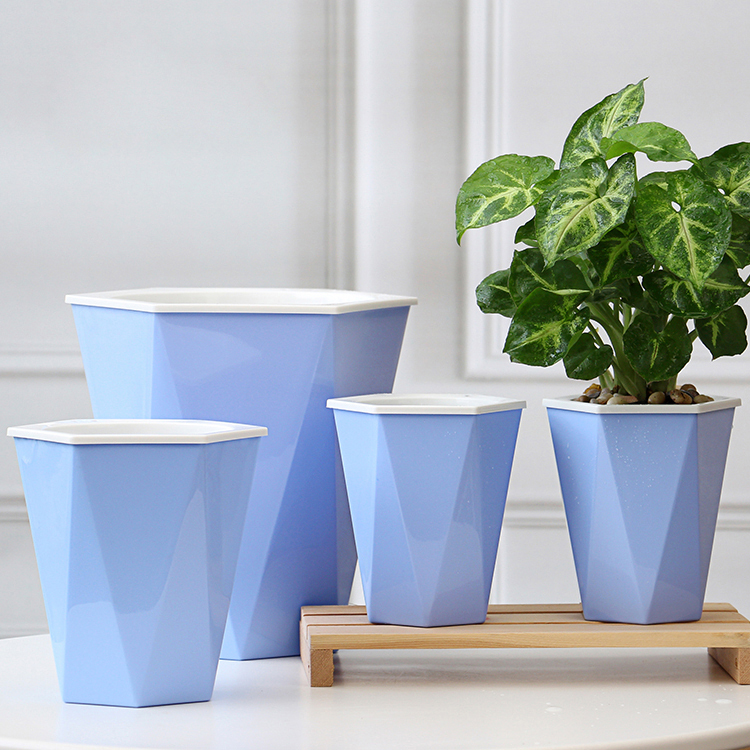 Wholesale New Design Plastic Flower Pots for Garden
