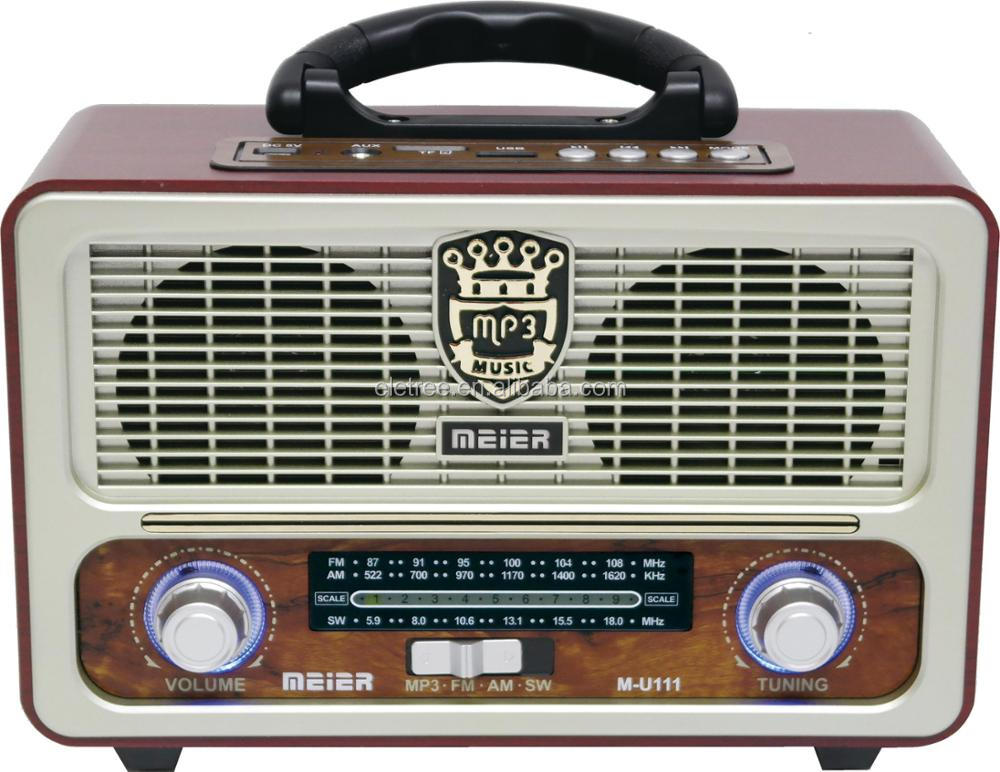 Brazil wooden bt radios radio am fm usb x-bass radio