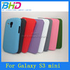 Hard plastic cell phone cases for S3 Mini 8190
