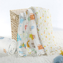 Bamboo Cotton Baby Blanket Lovely Printing Baby Blanket Knitted Kids Blanket Quilt