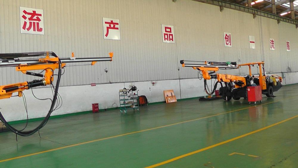 China Best Brand Kaishan Jumbo Drilling Rig Kj311/underground ...