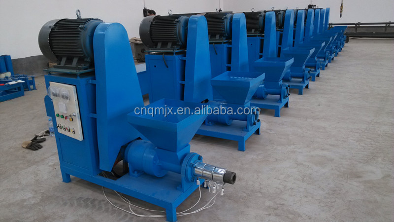 Coconut shell charcoal briquetting machine for Biomass Raw Material