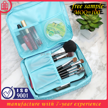 Free sample China manufacture wholesale basics nylon makeup cosmetic bag