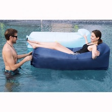 Fast inflatable self inflating beach เก้าอี้โซฟา Air lounger Air โซฟาพร้อมกระเป๋า