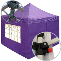 Aluminum folding tent gazebo pop easy up tent canopy marquee