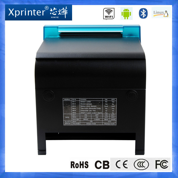3 inch android pos 80 printer thermal driver with USB/Serial/Ethernet port