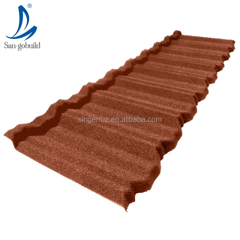 Sand Coated Metal building <strong>materials</strong> solar Roof Tile terracotta roofing shingles zinc roof sheet price