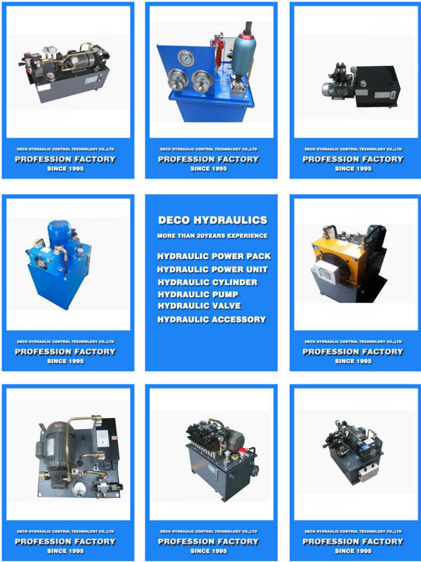 Used Electric Hydraulic Power Pack Type Hydraulic System For ...
