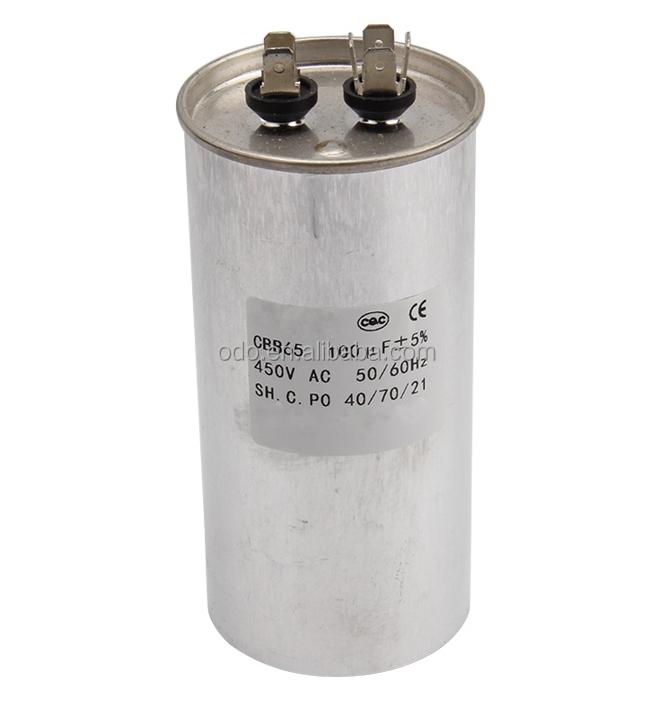 Dehumidifier Air Conditioner Motor Capacitor CBB65 40uF 450vac 50//60 HZ 5/%