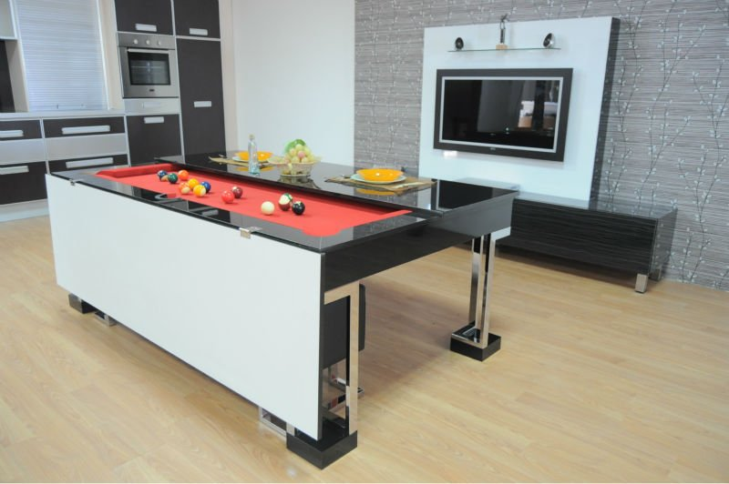 Aleta Modelo Artemis Comedor Mesa - Buy Plegable Mesa De Billar Product on  Alibaba.com