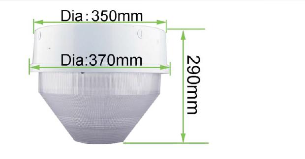 175w Mh Replacement Dlc 30w 40w 50w 60w Led Low Bay Lighting ...