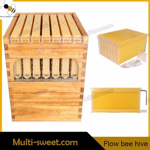 Zorue factory made Automatic flow honey beehive/flow bee hive