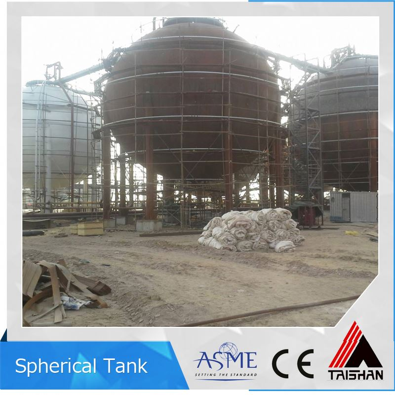 ASME Bio Gas Bunded Fuel Storage Tanks Vessel Supplier