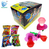 Diamond ring pop hard candy with light