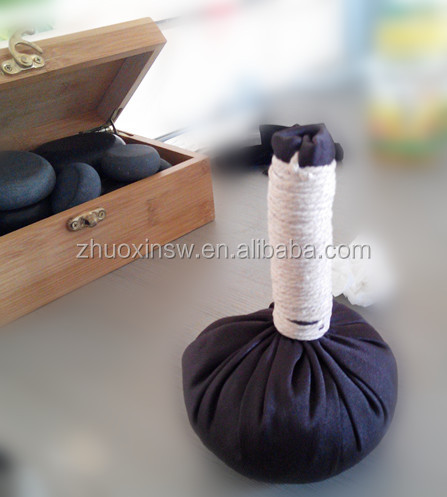 Hand made herbal massage compress ball