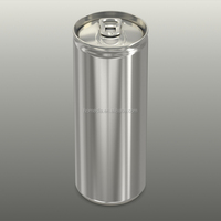 330ml Empty Aluminum Sleek Can for carbonated drink / beer / soda