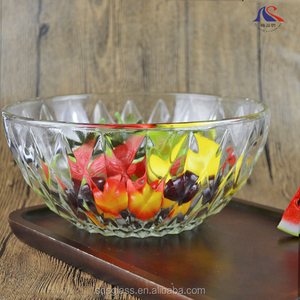 9inch Heat Resistant Glass Punch Bowl for Microwave Oven