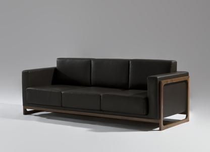 sean dix wooden frame sofa 61303 - Wooden Frame Sofa