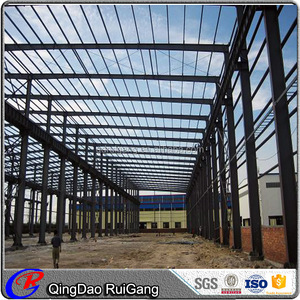 Famous Steel workshop design China export prefab large workshop