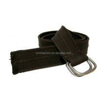 Wholesale Cheap Canvas rasta fabric belts