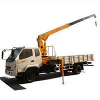 Pickup Hydraulic Truck Telescopic Boom Price