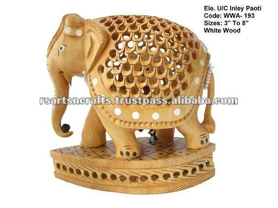 Jaipur Wood Handicraft Antique Wooden Statue Wooden Handicraft Items